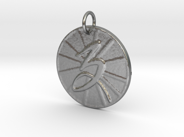 Capricorn Wheel by ~M. (Dec. 22 - Jan. 19) in Natural Silver