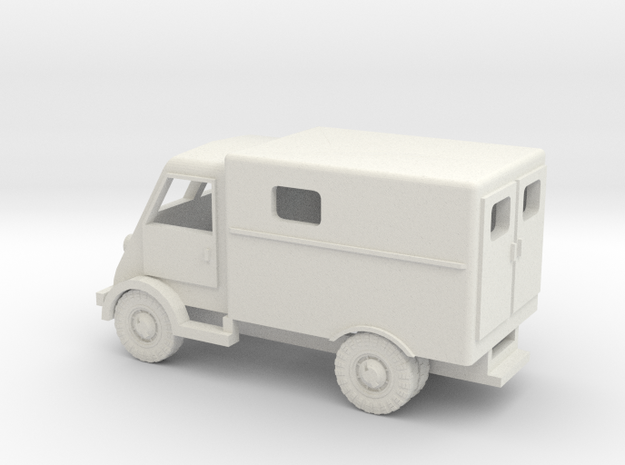 1/120 Peugeot DMA Ambulance TT scale in White Strong & Flexible