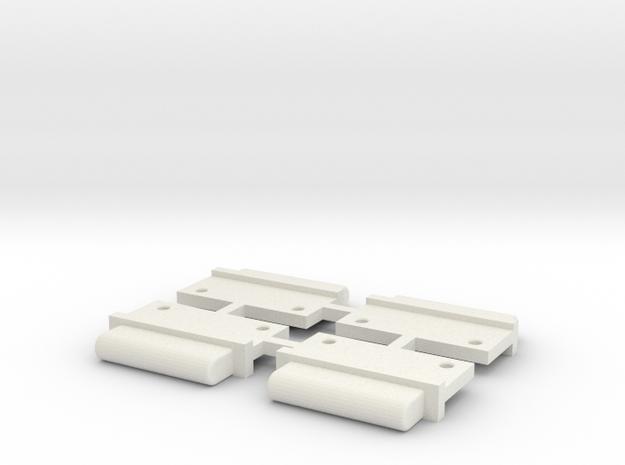 FixAV Mosler MiniZ 4pc in White Strong & Flexible