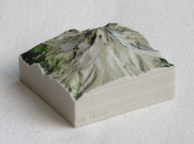 Mt. Hood, Oregon, USA, 1:100000 Explorer in Full Color Sandstone