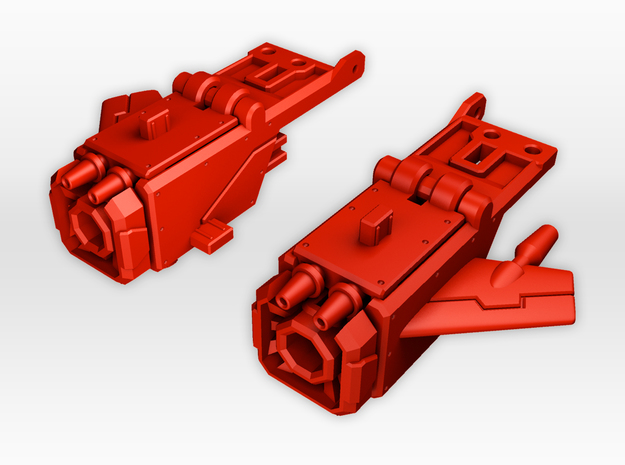 TR Frenzy Piledriver Accessories  in Red Processed Versatile Plastic