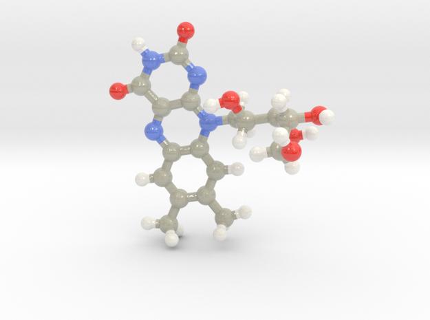 Riboflavin in Glossy Full Color Sandstone