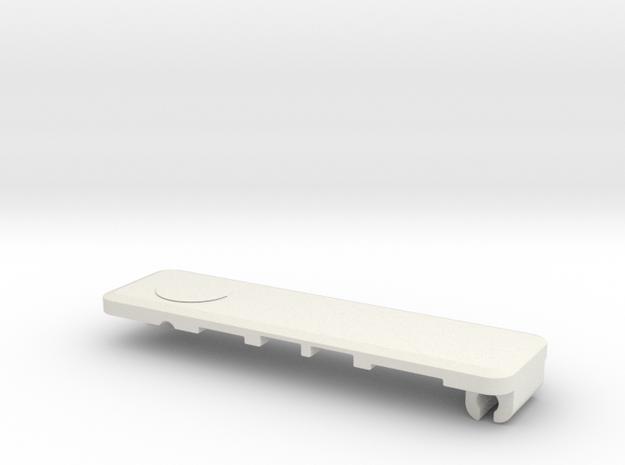 Mac Bracker Top V6 in White Natural Versatile Plastic