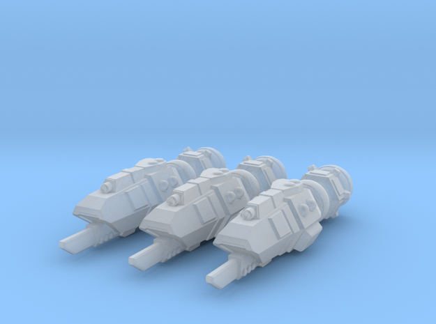 Buru Gunboat Squadron in Smooth Fine Detail Plastic