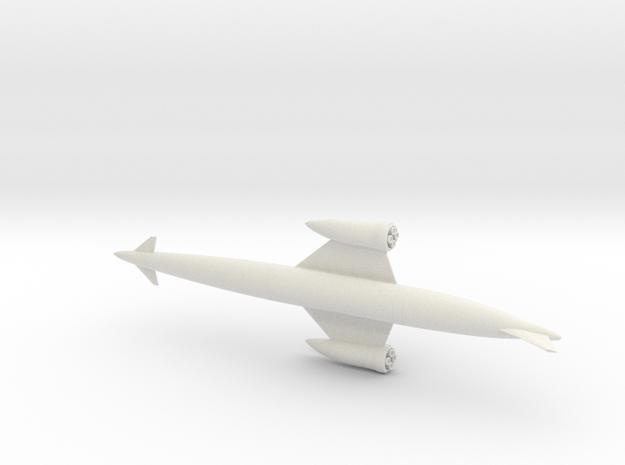1/400 SKYLON UK SSTO SPACE PLANE in White Strong & Flexible