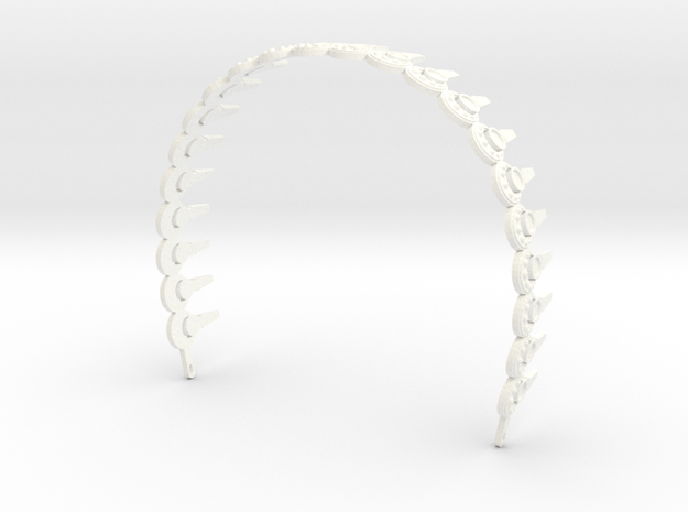Padme Aqua Rhinestone Headband