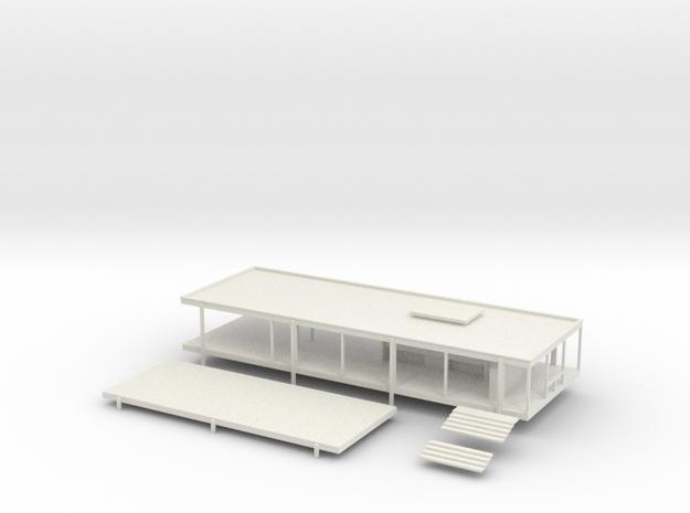 Modernist House 3d printed