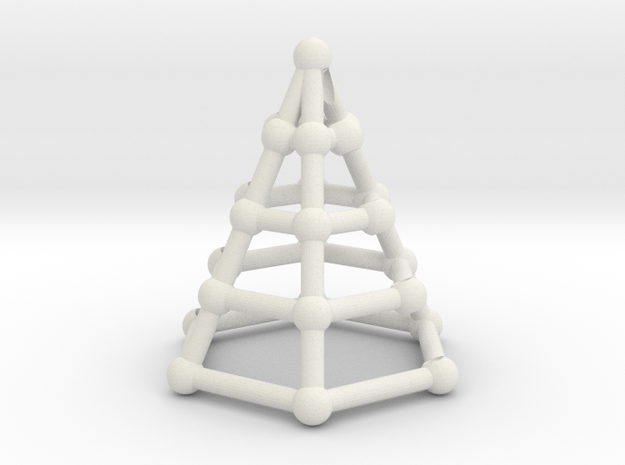 Skeleton cone in White Strong & Flexible