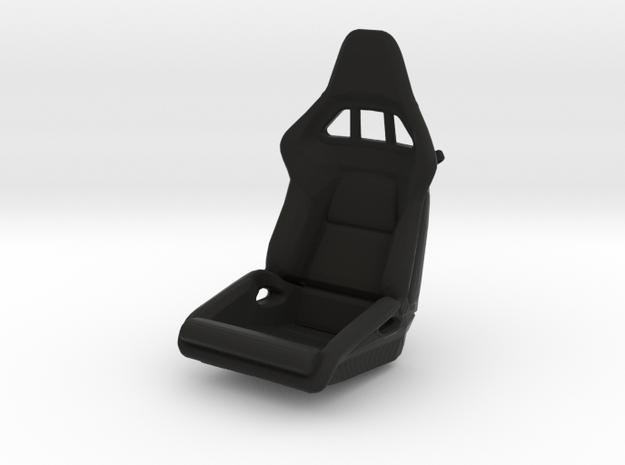 Race Seat P-RS-Type - LEFT - 1/10  in Black Natural Versatile Plastic