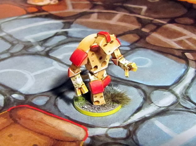 Cheese Golem - Mice & Mystics