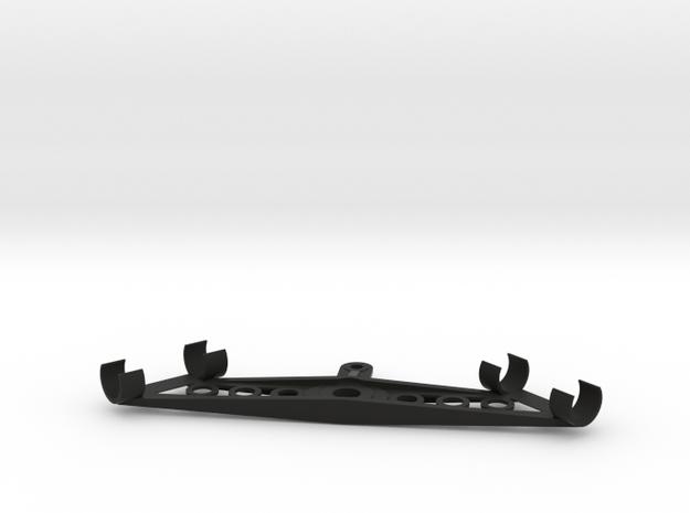 22mm NOS Stereo Mic Clip in Black Natural Versatile Plastic