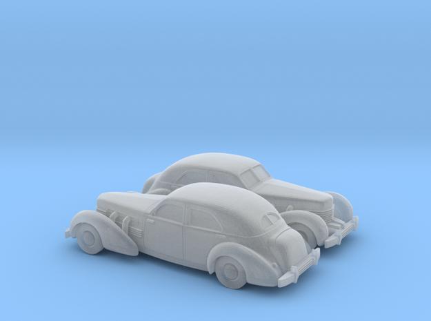 1/160 2X 1935 Cord 812 Sedan in Smooth Fine Detail Plastic