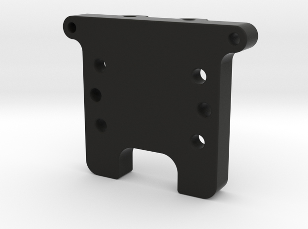 GF5 Rear Bulkhead in Black Natural Versatile Plastic