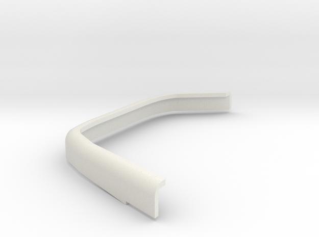DeAgostini Hummer H1 Rear fender spreader right in White Natural Versatile Plastic