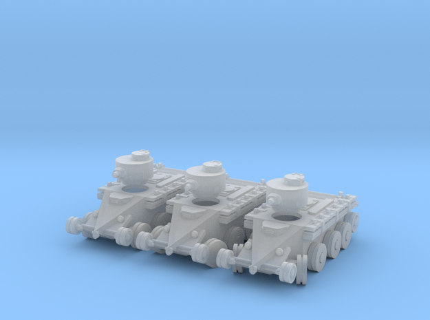 1/220 Christie T3 tank (on wheels) in Smoothest Fine Detail Plastic