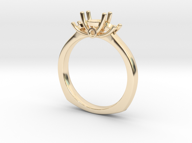 Ring For women in 14K Gold: Small