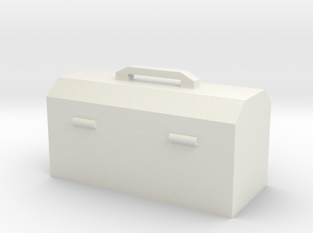 Hand Tool Box in White Strong & Flexible