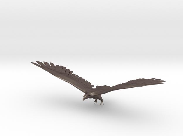 Adler / Eagle in Polished Bronzed Silver Steel