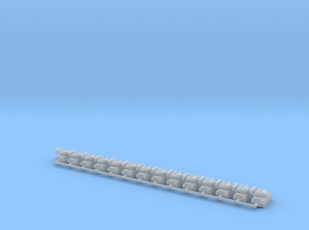 1/700 M2A3 Bradley IFV (x14) in Smooth Fine Detail Plastic