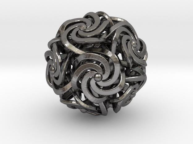 Dodecahedron W-Spirals 2.0inch