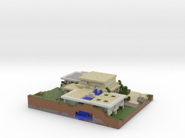PinterJ's Modern House in Full Color Sandstone