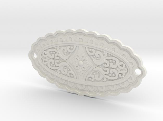 Khaleesi Belt C in White Natural Versatile Plastic