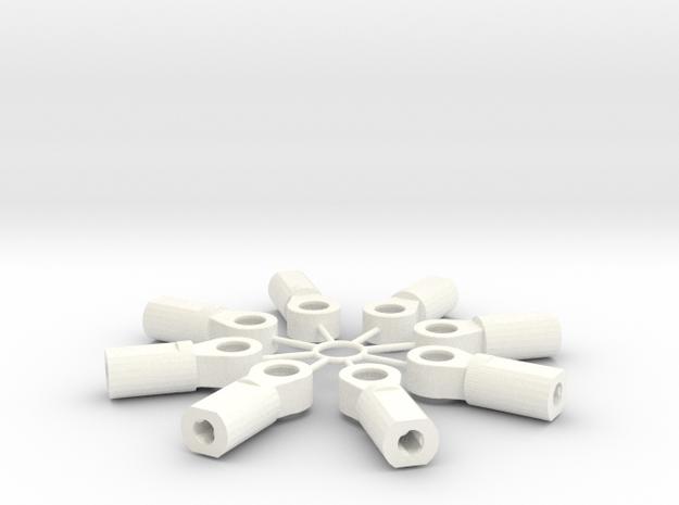 5mm Adjuster in White Processed Versatile Plastic