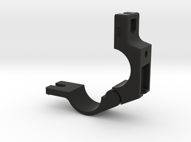 24.5mm Handlebar Clamp for many Cree / MagicShine in Black Strong & Flexible