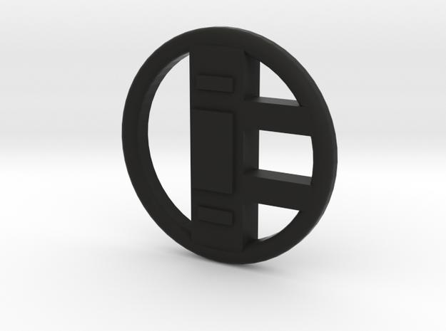 Volvo Steering Wheel For LEGO in Black Natural Versatile Plastic
