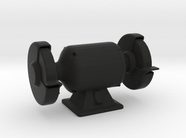 Double Grinder - 1/10 in Black Natural Versatile Plastic