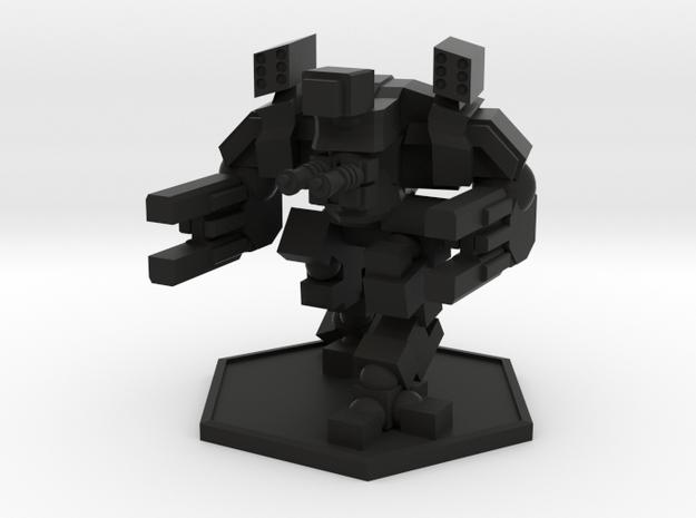 Colour Imperial Rex Main Battle Walker (Hex) in Black Natural Versatile Plastic