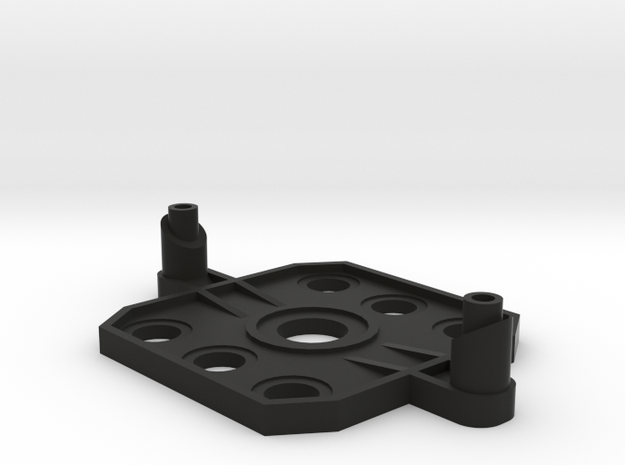 3dr iris, lower ball mount in Black Natural Versatile Plastic