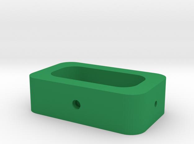 calypso cardan middle part (2/3) in Green Processed Versatile Plastic