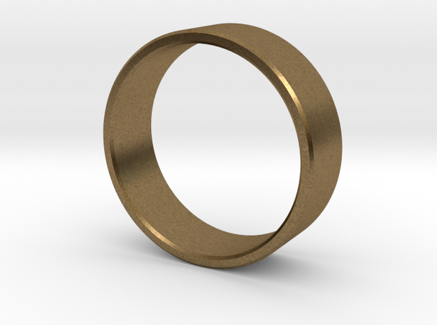 Simplicity in a Band in Raw Bronze: 8 / 56.75
