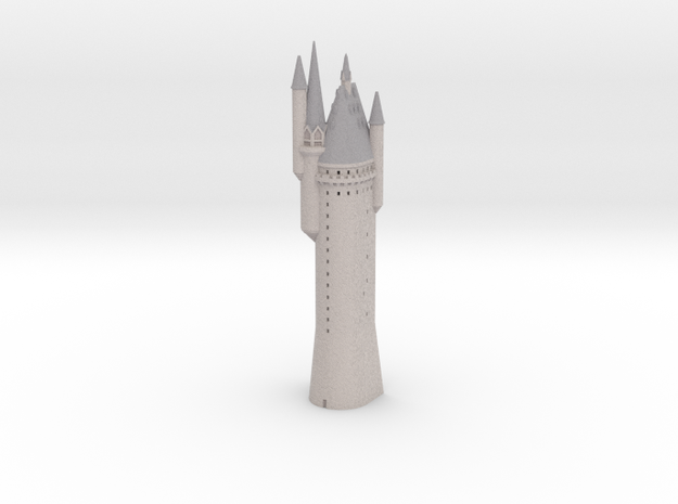 1/720 Hogwarts - Astronomy Tower in Full Color Sandstone
