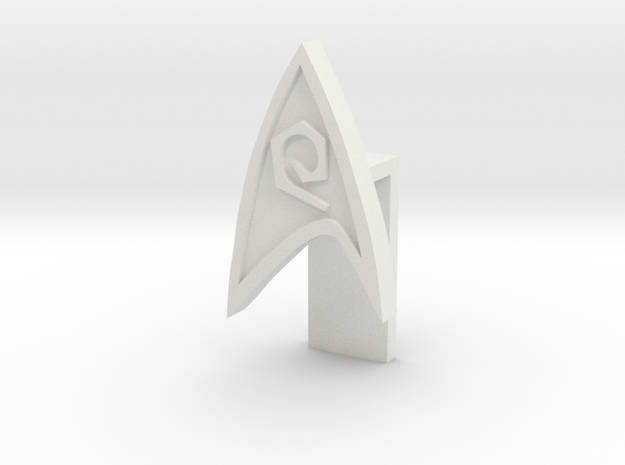 STAR FLEET Eng PIN in White Strong & Flexible