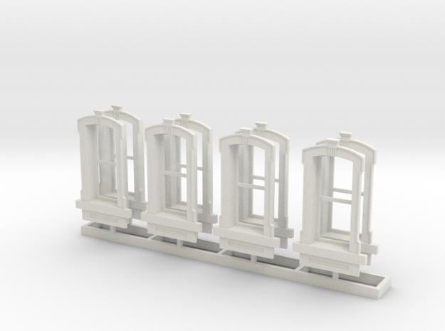 HO WCK Single Simple Window X 8 in White Strong & Flexible