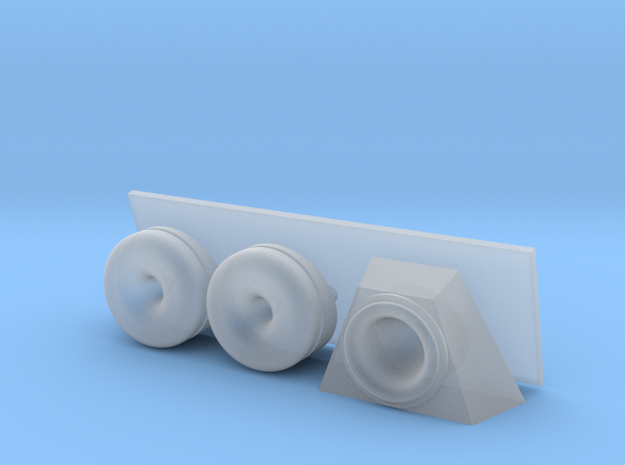 1/120 Towed Sonar modules in Smooth Fine Detail Plastic