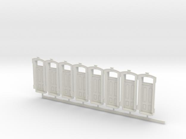 WCK 4ft 3in Wide Door X 8 in White Strong & Flexible
