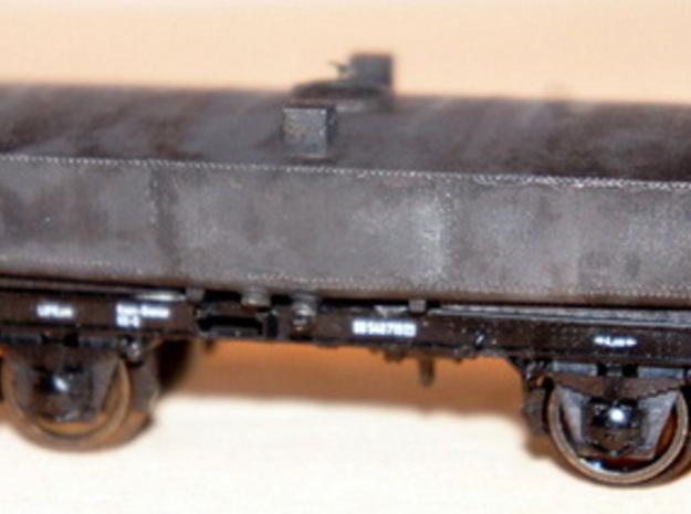 Kesselwagen Conradty Rev-3 in Frosted Ultra Detail: 1:87 - HO