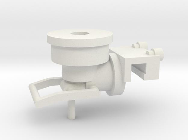 1/16 M7 Priest AA mount in White Natural Versatile Plastic