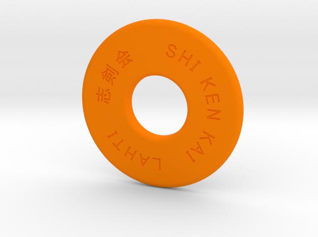 Shinai M in Orange Strong & Flexible Polished