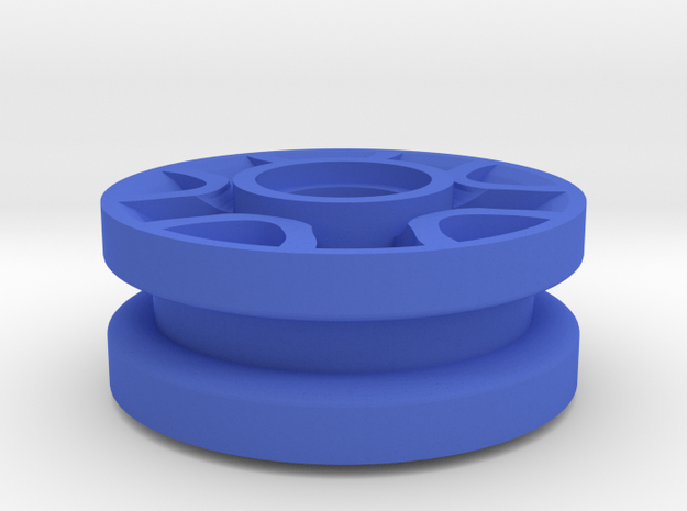 Wheel #2 for 4.8mm pin in Blue Processed Versatile Plastic