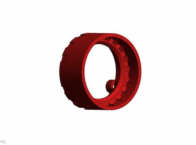 GCM110-03-02 - 28mm Premium speaker holder in White Natural Versatile Plastic