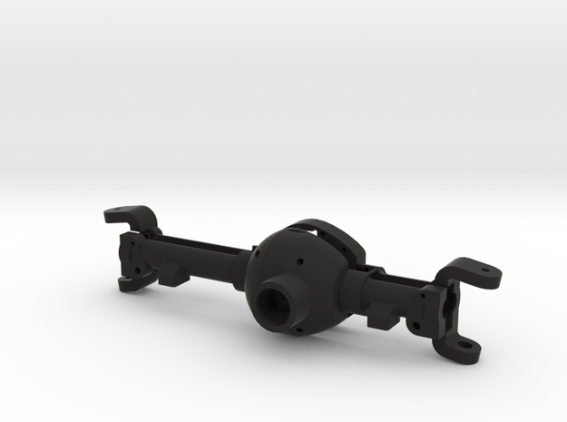 Axle Part 1 in Black Natural Versatile Plastic