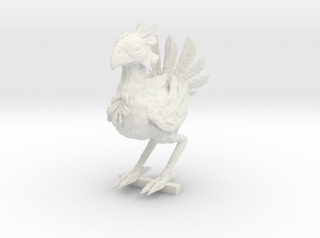 CHOCOBO REWORKED / PEG STAND in White Strong & Flexible: Medium