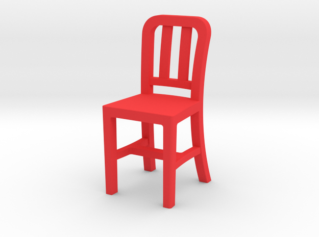RedChair2 in Red Strong & Flexible Polished