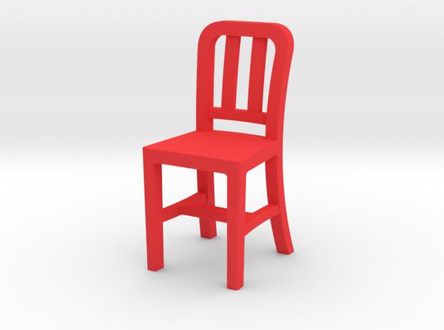 RedChair2 in Red Processed Versatile Plastic