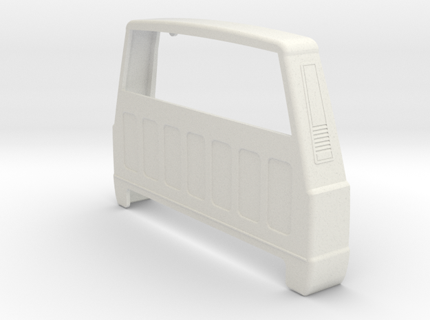 XJ to Comanche Conversion for Asiatees RC hardbody in White Natural Versatile Plastic