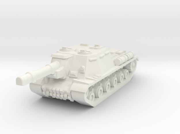 ISU-152 in White Natural Versatile Plastic